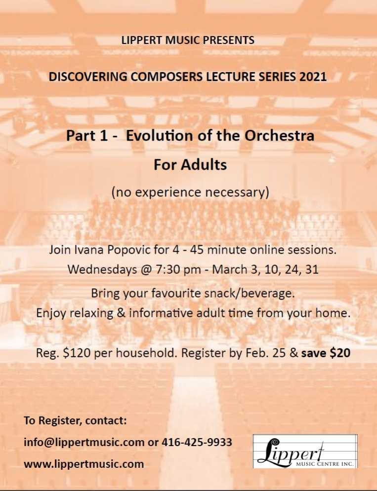 Discovering Composers Series: Part 1 - The Evolution of the Orchestra